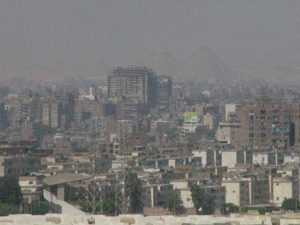 Downtown Cairo, Seen from The Citadel