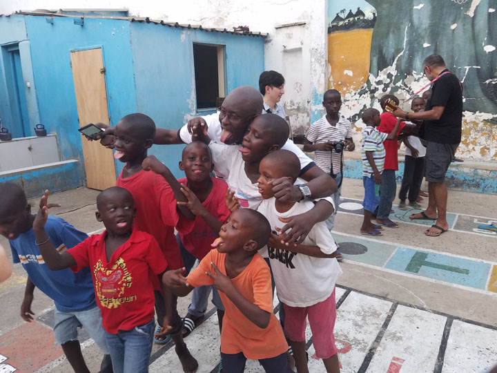 Visiting the Children at L'Empire des Enfants