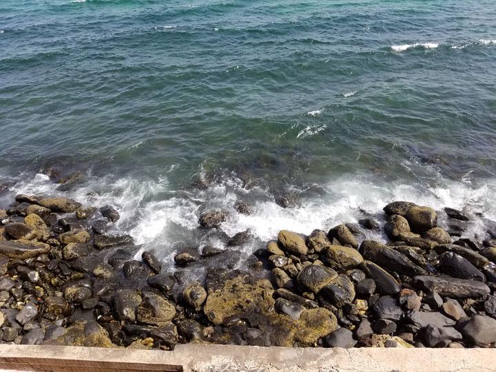 Gorée Island, the Rocky Beach Below the Door of No Return