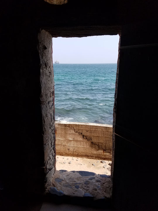 Gorée Island House of Slaves, Door of No Return