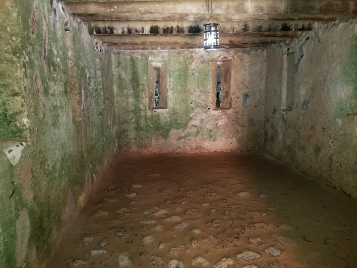 Gorée Island's House of Slaves, the Men's Room