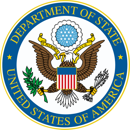 Logo for U.S. Department of State