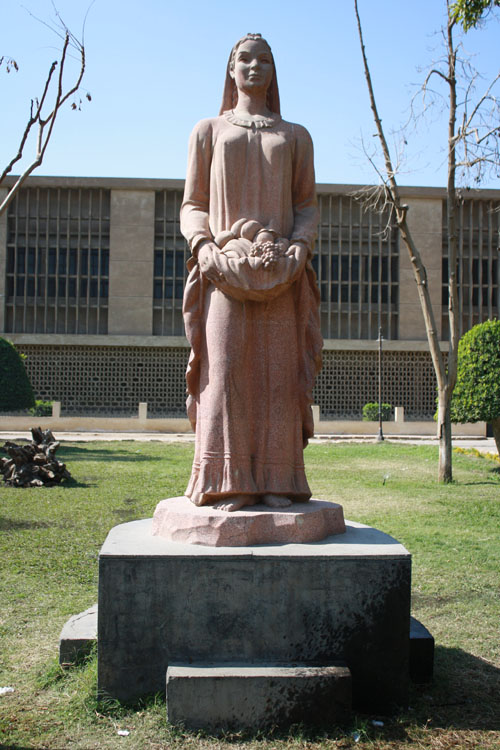 Fellaha Statue