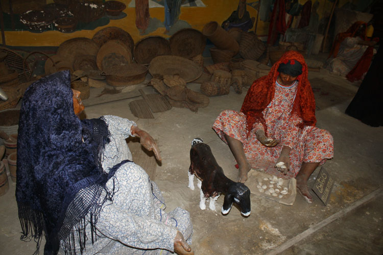 Fortuneteller in Agricultural Museum