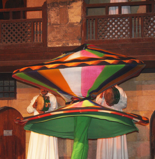 Tannoura: The Whirling Dervishes of Egypt
