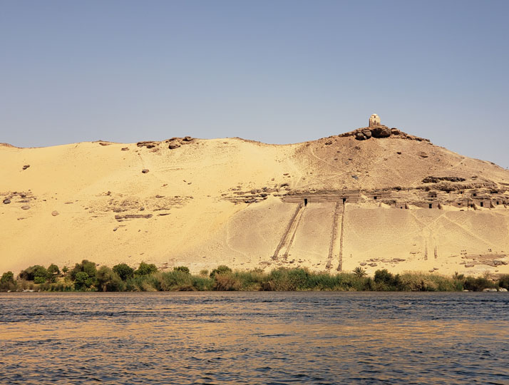 Aswan Valley of the Nobles and Qubbet el Hawa